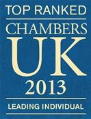 Chambers Recommended Lawyer London 2013