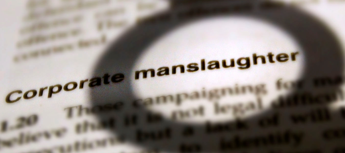 New instruction in Corporate Manslaughter Prosecution