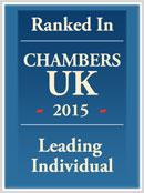 Chambers Recommended Lawyer London 2015